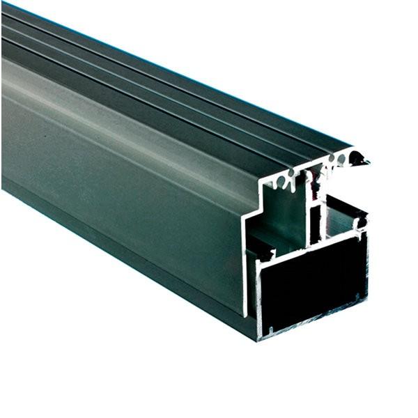 kit rive profil tube 60 capot 16 mm gris l 3 4 m. Black Bedroom Furniture Sets. Home Design Ideas