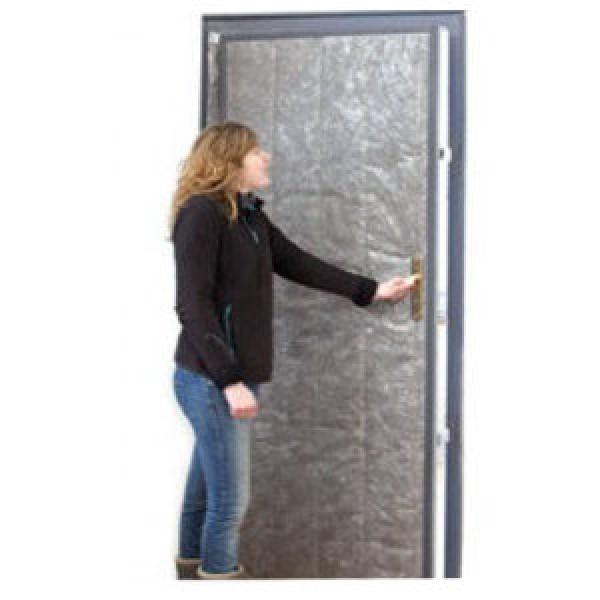 Isolant mince kit pour porte de service cellier toiture for Isolant pour porte d entree