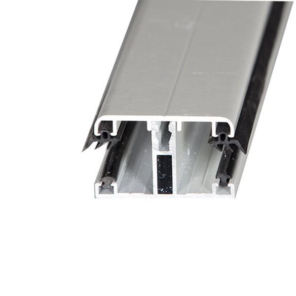 Kit jonction profil t capot 16 mm blanc longueur de 2 m 7 m toitu - Profile aluminium pour toiture verre ...