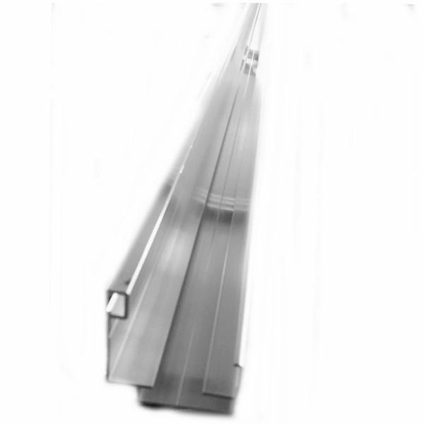 Kit profil Bas Clickfix - 40 mm - Alu - Longueur 6 ml sans Bavette