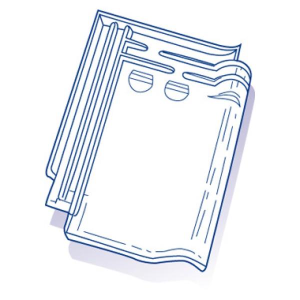 tuile de verre monopole 3 ref lr 3 carton de 10 toiture. Black Bedroom Furniture Sets. Home Design Ideas