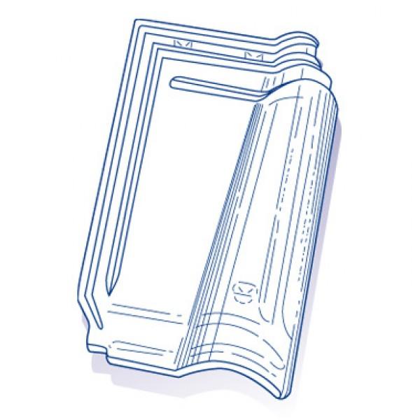 tuile de verre m ridionale gr 13 ref 9 8 pces toiture. Black Bedroom Furniture Sets. Home Design Ideas