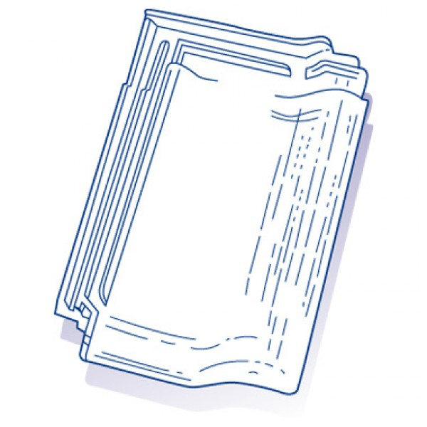tuile de verre panne bisch ref 24 carton de 8 toiture. Black Bedroom Furniture Sets. Home Design Ideas