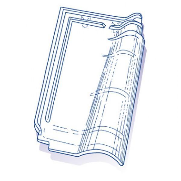 tuile de verre rh ne alpes ref n 13 carton de 8. Black Bedroom Furniture Sets. Home Design Ideas