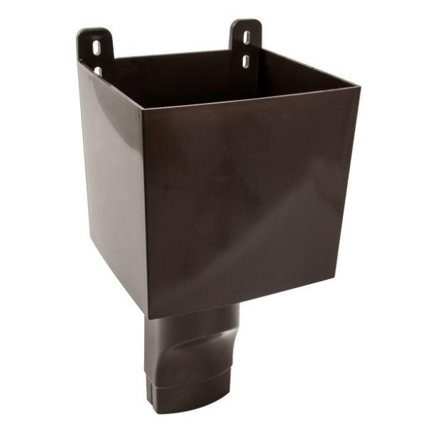 Boîte à Eau pour descendant ovoïde 90 x 56 Marron Nicoll BAO95M