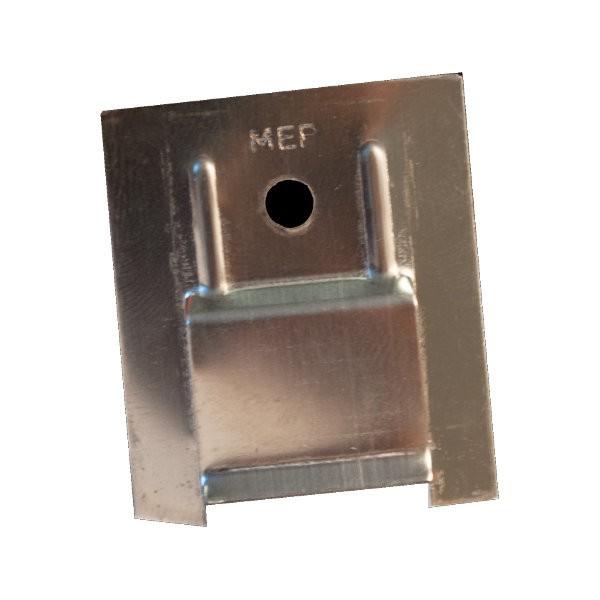 Clip de fixation inox pour lambris sous-face, la boite de 100, SB3A