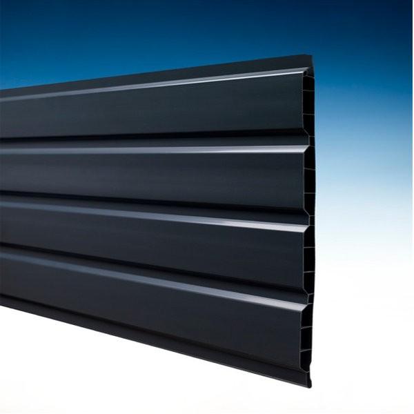 lambris pvc anthracite 4m toiture. Black Bedroom Furniture Sets. Home Design Ideas
