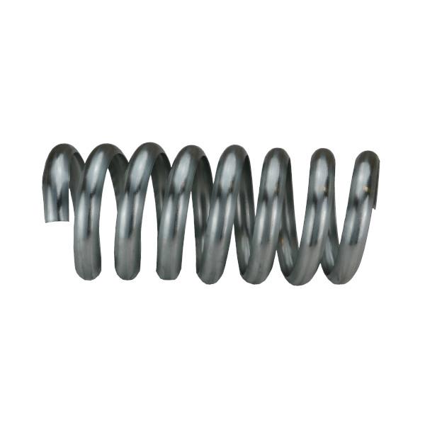 Bague Spirale Sans Bord Zinc Naturel 7 spires, diam 80 mm