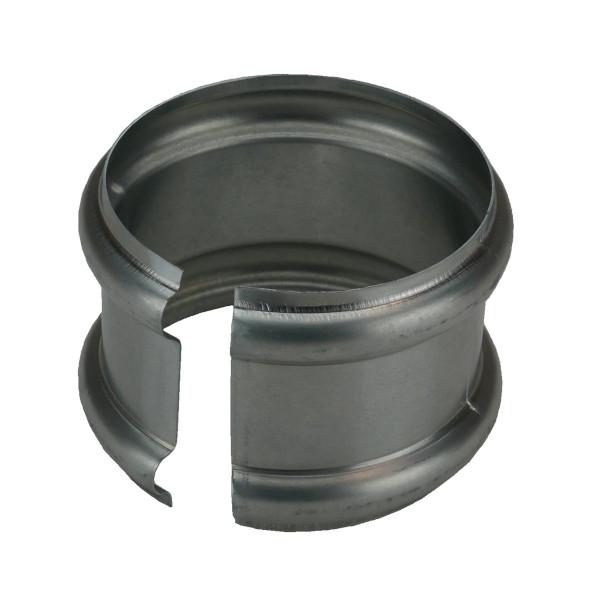 Bague Double Extensible Zinc Naturel, diam 80 mm
