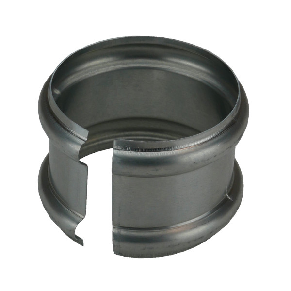 Bague Double Extensible Zinc Naturel, diam 100 mm
