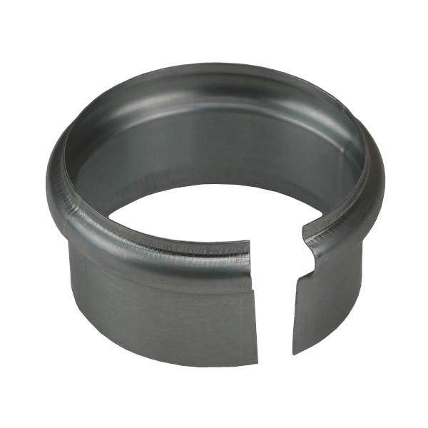 Bague Simple Extensible Moulurée en Zinc Naturel, diam 80 mm
