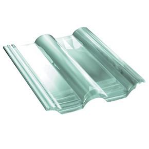 tuile de verre double romane ref monier dr555 x 6 toiture. Black Bedroom Furniture Sets. Home Design Ideas