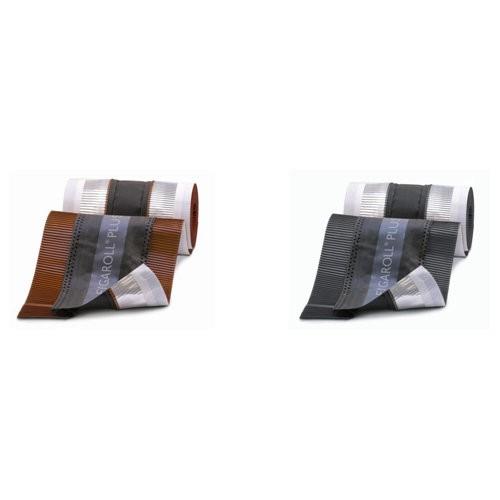 Closoir ventilé Figaroll Plus 28/32 cm coul.Brun, 4 rouleaux de 5m