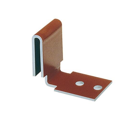 Clip de fixation Vario-clip Monier coloris rouge, sachet de 50