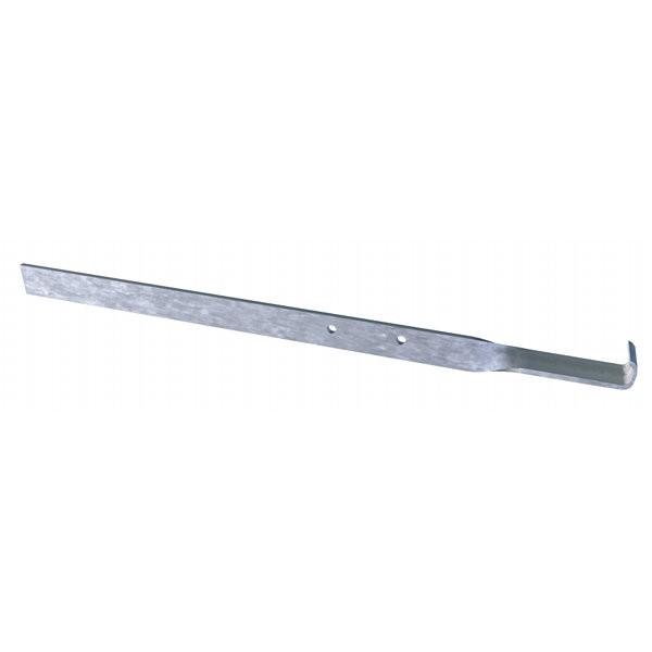 Fixation Panneton à plier pour cornière métallique, sachet de 250