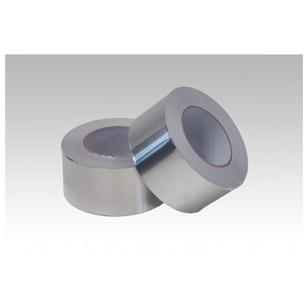Adhésif en polyester aluminisé, rouleau de 50 ml / largeur 75 mm