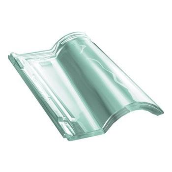 Tuile de verre Gallo Romane - ref Monier GL283, carton de 8 U