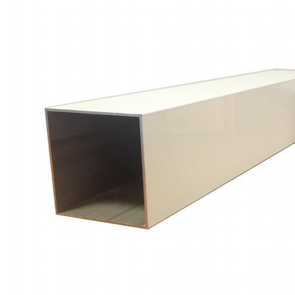 Kit poteau + accessoires pour pergola blanc 90 x 90 mm, longueur 2,5 m