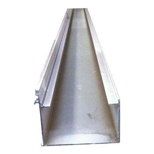 Kit gouttière simple + accessoires blanc, longueur 6,50 m