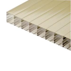 plaque polycarbonate alv olaire gold 32 mm 1 25 m. Black Bedroom Furniture Sets. Home Design Ideas