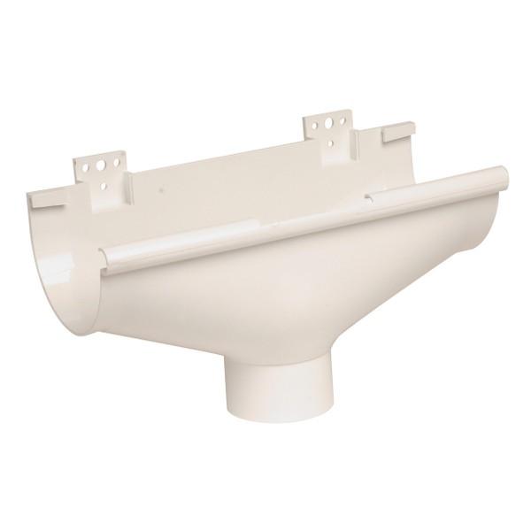 Naissance centrale dilatation Gouttière PVC Blanc Nicoll d33 diam 100