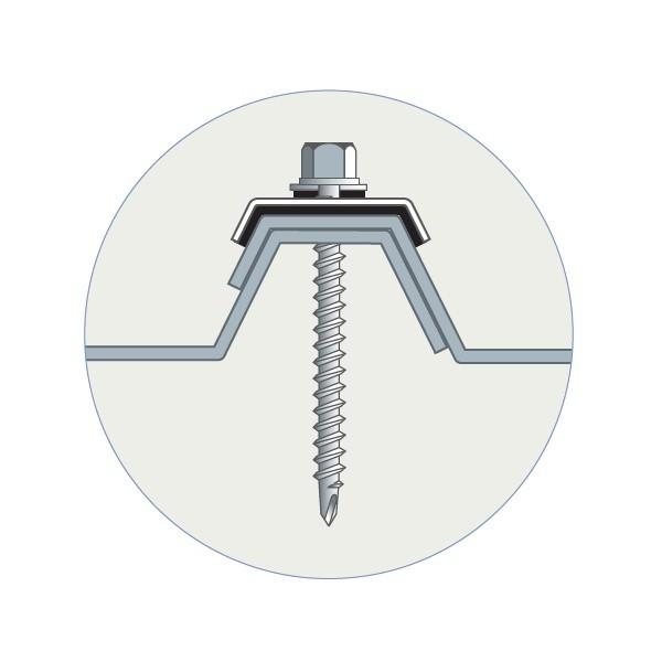 50 Fixations pour charpente métallique