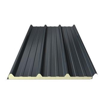bac acier bleu panneau sandwich ep 40 mm toiture. Black Bedroom Furniture Sets. Home Design Ideas