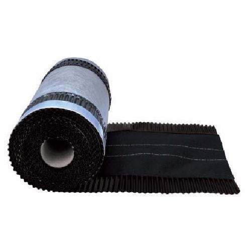 Closoir ventilé couleur Noir, largeur 210 mm, long 5 M, par 4 pièces