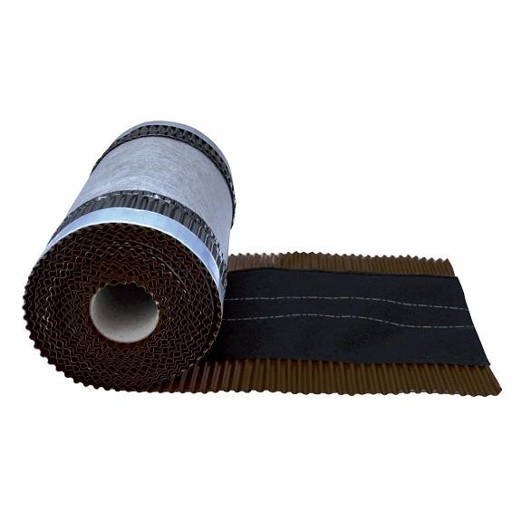 Closoir ventilé couleur Brun, largeur 210 mm, long 5 M, par 4 pièces