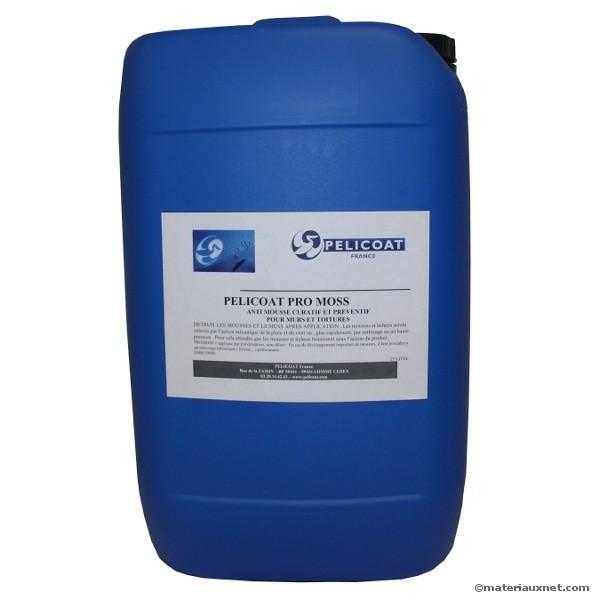 Anti-mousse curatif préventif Pro Moss en bidon de 25 litres