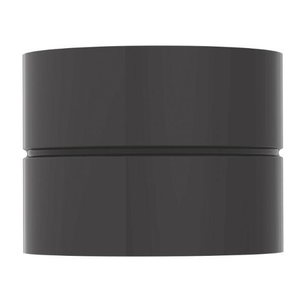 Manchette Noire ø180 mm pour raccordement appareils bois