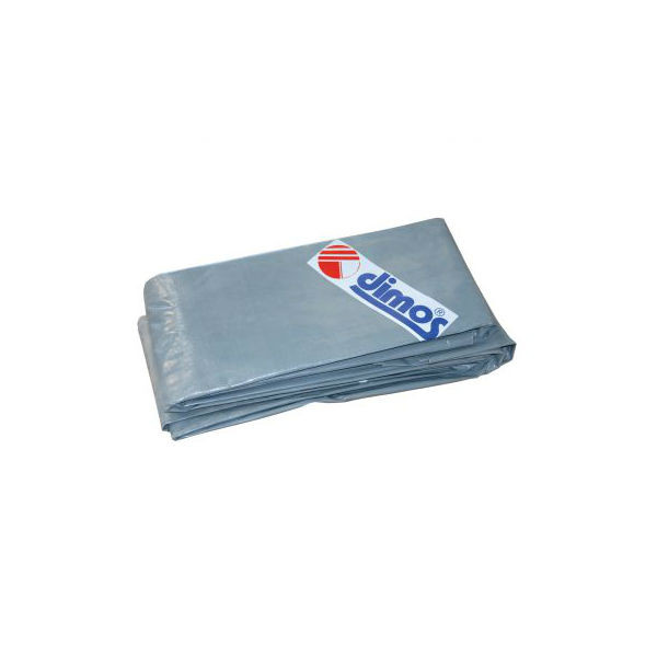 Bâche bleue à oeillets 6 x 4 m Dimos PEHD 6 x 4 m