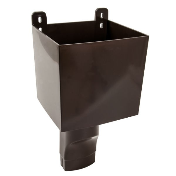 Boîte à Eau pour descendant ovoïde 105 x 76 Marron Nicoll BAO107M
