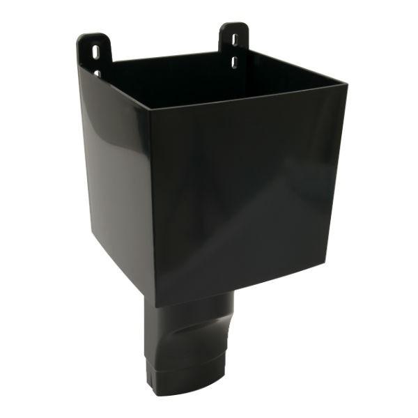 Boîte à Eau pour descendant ovoïde 105 x 76 Noir Nicoll BAO107N
