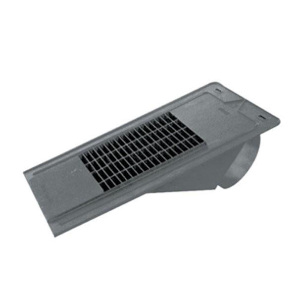 Terminal Ventilation Ubbink Vepac 200 ardoise noir, diam 100 à 165mm
