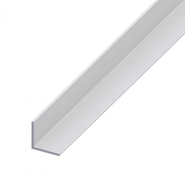 Cornière aluminium brut - 20 x 20 mm - Longueur 6,04 m