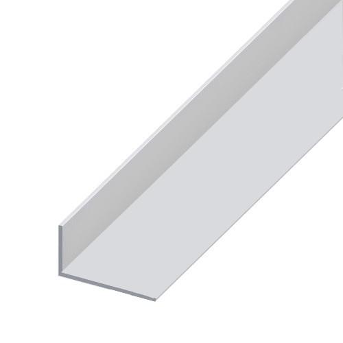 Cornière aluminium brut - 80 x 40 mm - Longueur 6,04 m