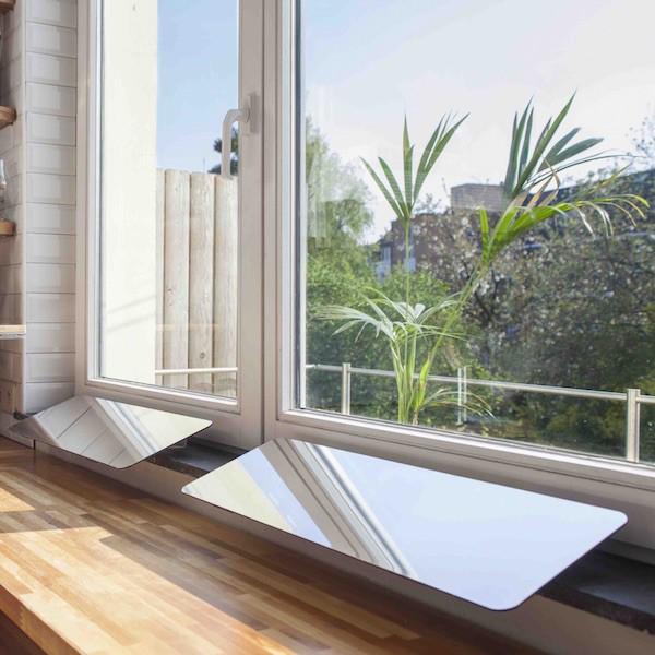 r flecteur de lumi re int rieur espaciel 60 cm x 20 cm. Black Bedroom Furniture Sets. Home Design Ideas