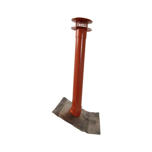 Extracteur statique Nicoll EXTARTCR rouge
