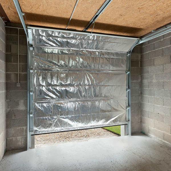 isolant mince kit pour porte de garage 5 70 m2 toiture. Black Bedroom Furniture Sets. Home Design Ideas