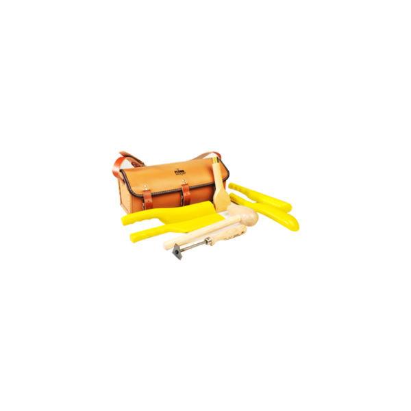 Malette d'outils pour travail du plomb