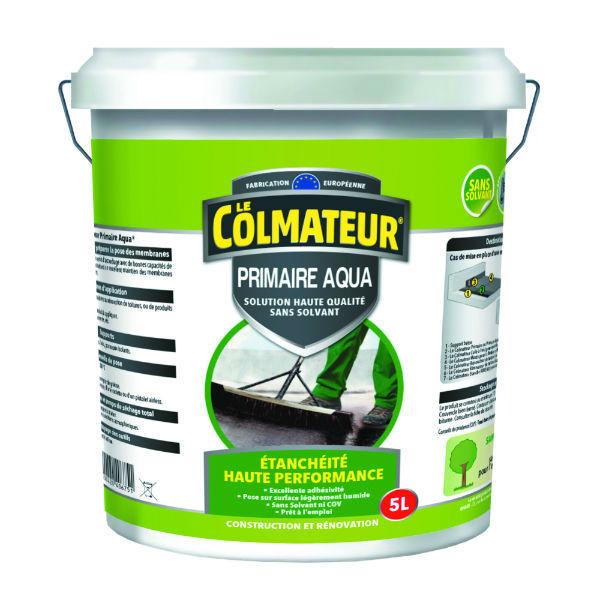 Primaire d'Accrochage sans Solvant pour Membrane Bitume, Le Colmateur