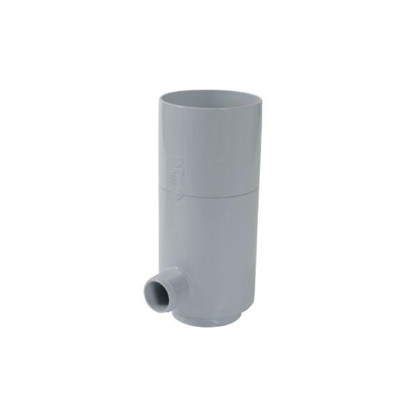 Récupérateur eau pluviale Gris Diamètre 100 mm Nicoll REPF100