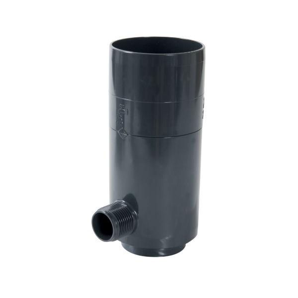 Récupérateur eau pluviale Anthracite Diamètre 80 mm Nicoll REPTD80A