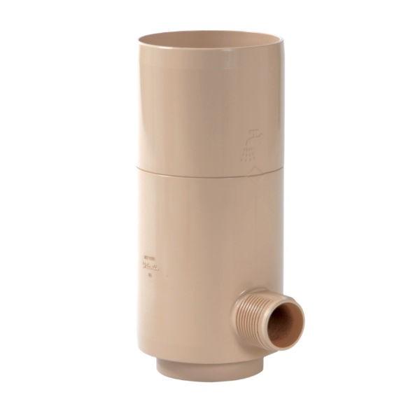 Récupérateur eau pluviale Sable Diamètre 80 mm Nicoll REPTD80S