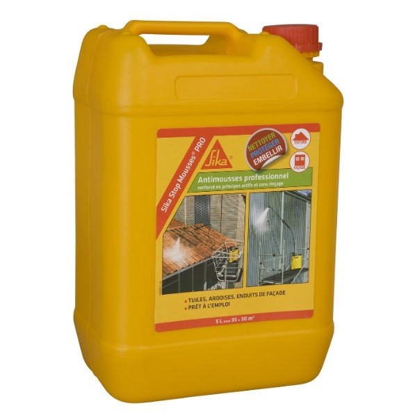 Stop Mousse Pro Sika Traitement multi surfaces 5l