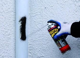 Spray seal blanc, bitume en spray pour étanchéité, bouteille de 405 ml