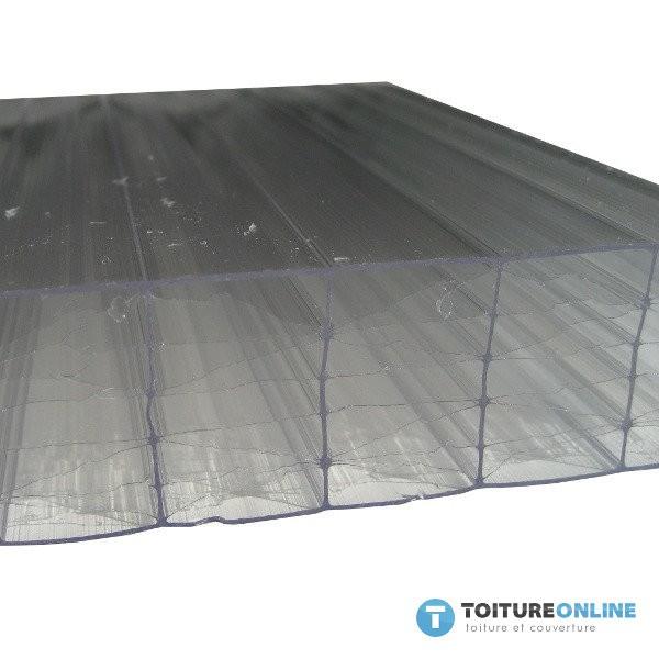 plaque polycarbonate alv olaire claire 32 mm 1 25x4m. Black Bedroom Furniture Sets. Home Design Ideas