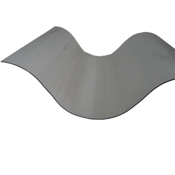 Plaque Polycarbonate Ondulé - Grandes Ondes - 0,92 m x 2,5 m