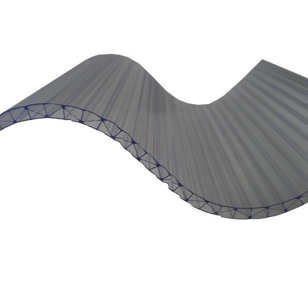 Plaque Polycarbonate Ondulé Alvéolaire - Grandes Ondes - 0,92 m x 2,5 m